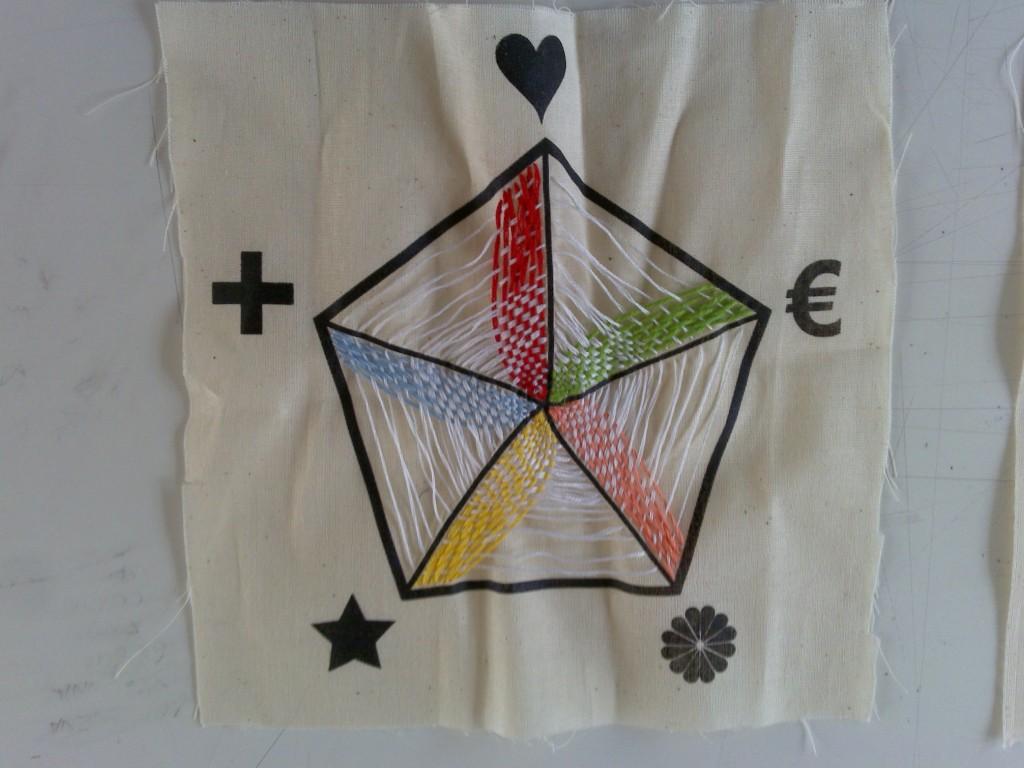Il pentagramma del lavoro creativo