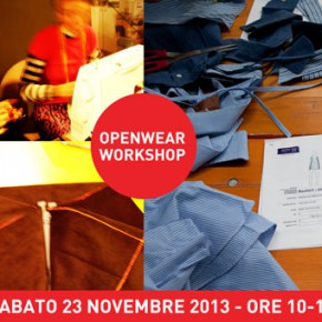 Openwear Workshop in Scighera - 23 novembre 2013