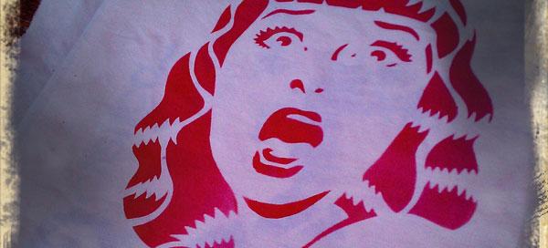 17-18 maggio, Un w-e di crazy stencil con Serpica