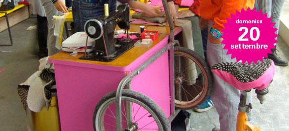 Dom 20/09/15 h.15 - Lab borsa FOR-bici a Disimballati Abbiategrasso