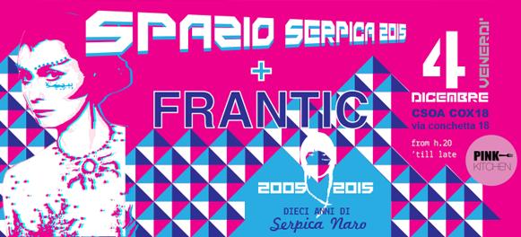 Spazio Serpica 2015 cox18