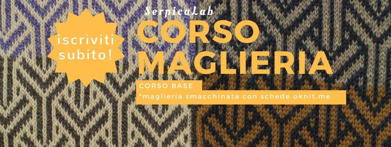 maglieria smacchinata - corso base