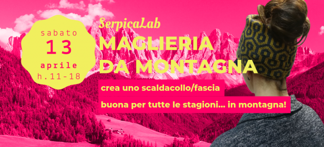workshop di maglieria da montagna
