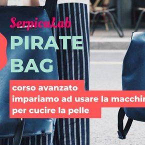 Pirate Bag - corso con macchine per cucire la pelle