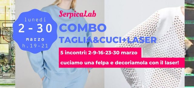 COMBO | TAGLIA&CUCI+LASER